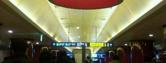 Dongdaemun History & Culture Park Stn. is one of Subway Stations in Seoul(line1~4 & DX).
