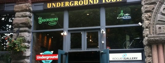 Bill Speidel's Underground Tour is one of I love Seattle!.
