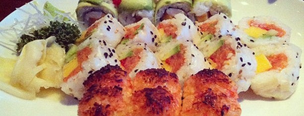 Blu Sushi is one of Top 10 restaurants when money is no object.