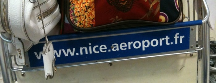Nice Côte d'Azur Airport (NCE) is one of Airports in Europe, Africa and Middle East.