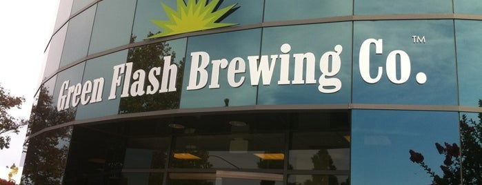 Green Flash Brewing Company is one of LA & SD Breweries.