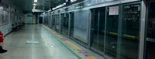 Banpo Stn. is one of Subway Stations in Seoul(line5~9).