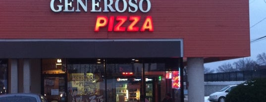 Generoso Pizza is one of Pinpointed locations.