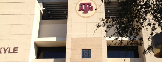 Kyle Field Zone Plaza is one of Aggie Gameday Activites.