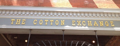 Cotton Exchange is one of Gary's List.
