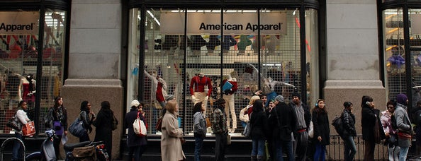 American Apparel is one of Shopping.