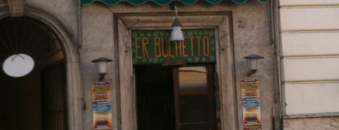 Er Buchetto is one of Trattorie a Roma.