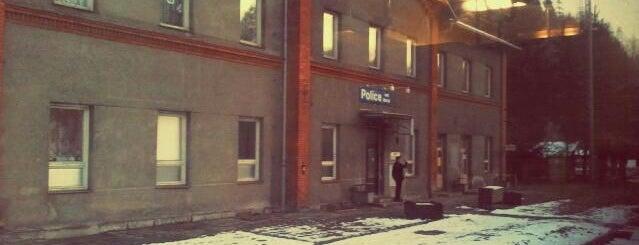 Železniční stanice Police nad Metují is one of Železniční stanice ČR: P (9/14).