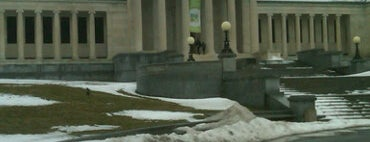 Albright-Knox Art Gallery is one of Must see places in Buffalo for tourists #visitUS.