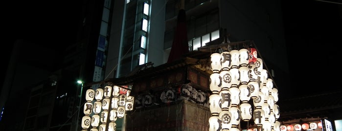 月鉾 is one of 祇園祭 - the Kyoto Gion Festival.