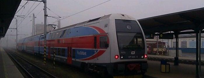 Železniční stanice Opava východ is one of Linka S1/R1 ODIS Opava východ - Český Těšín.