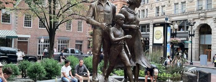 Irish Famine Memorial is one of Hub History.