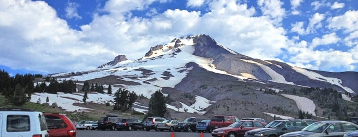 Timberline Lodge is one of Scenic Route: US West Coast.
