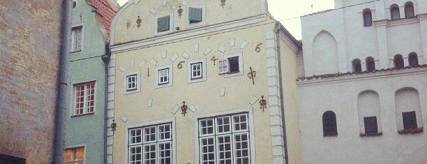 Trīs Brāļi / Three Brothers Building is one of Unveil Riga : Atklāj Rīgu : Открой Ригу.