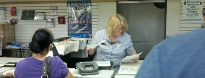 US Post Office is one of Miami life.