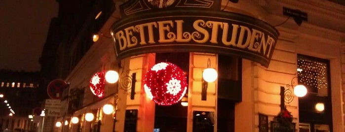 Bettelstudent is one of vienna.