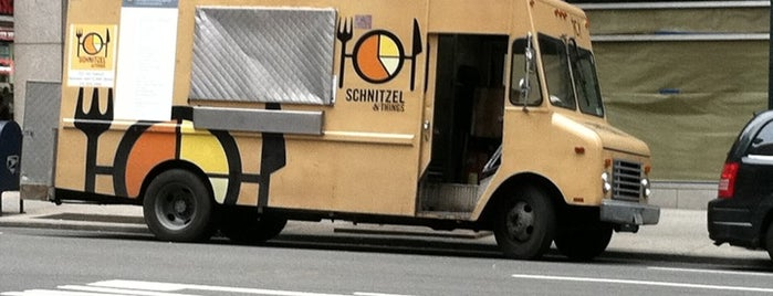Schnitzel & Things is one of NYC Food on Wheels.