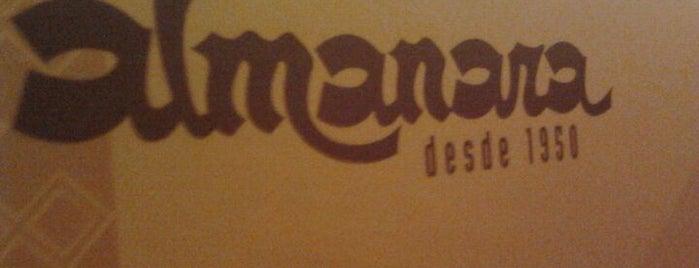 Almanara is one of Restaurantes São Paulo.