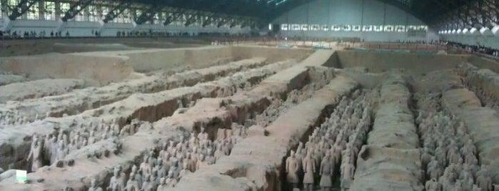 秦始皇兵马俑 Museum of the Terra-cotta Warriors and Horses of Qin Shihuang is one of Best of World Edition part 3.