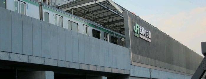 JR 横須賀線(湘南新宿ライン) 武蔵小杉駅 is one of 武蔵小杉再開発地区.