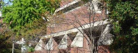 Lucille C. Caudill Little Fine Arts Library is one of Take a Walk on UK's Artside.