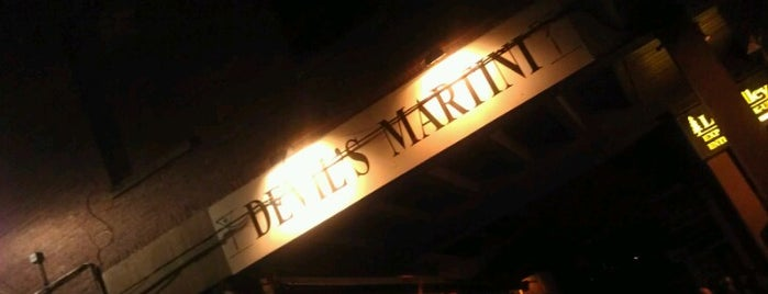 Devil's Martini is one of Around Toronto in 80 drinks.