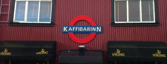 Kaffibarinn is one of Tag.