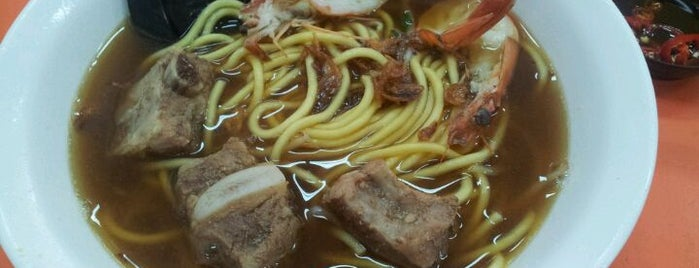 Blanco Prawn Noodle House (月兰亭) is one of Good Food Places: Hawker Food (Part I)!.