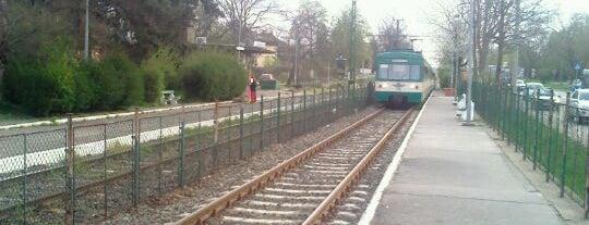 Mátyásföld, Imre utca (H8, H9) is one of Hév megállók.