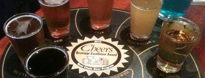 Ram Restaurant & Brewery is one of Growler fill spots in Indy.