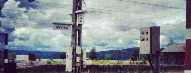 Arvika Station is one of Tågstationer - Sverige.