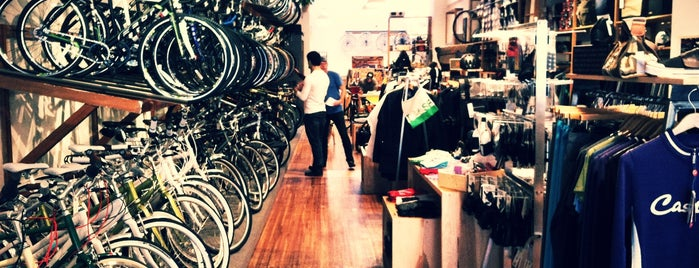 Huckleberry Bicycles is one of Mid-Market.