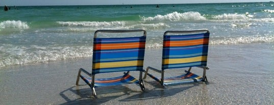 Siesta Beach is one of The 50 Most Popular Beaches in the U.S..