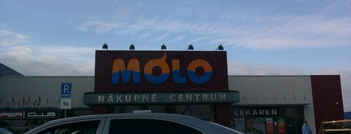 OC Mólo is one of MALLS/SHOPPING CENTERS in Slovakia.