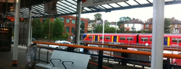 Guildford Railway Station (GLD) is one of Railway Stations in UK.