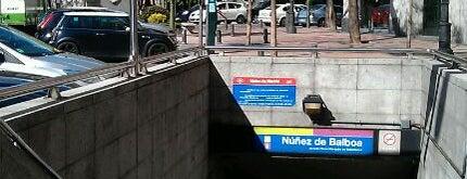Metro Núñez de Balboa is one of Transporte.