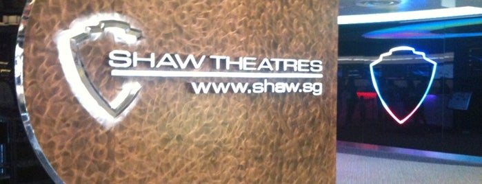 Shaw Theatres is one of All-time favorites in Singapore.