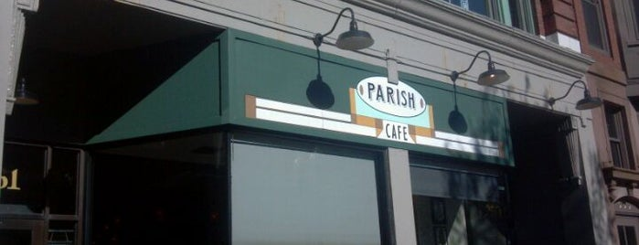 Parish Cafe & Bar is one of Lunch, Anyone?.