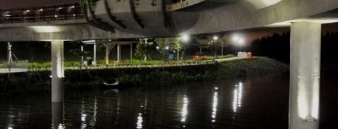Jewel Bridge is one of Trek Across Singapore.