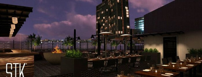 STK Rooftop is one of Must-visit Food in New York.