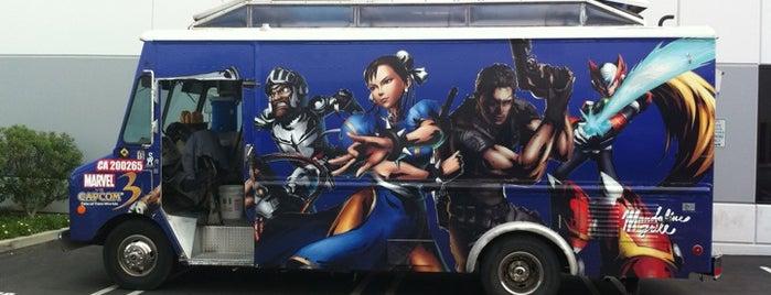 Mandoline Grill Truck is one of Best LA Food Trucks.