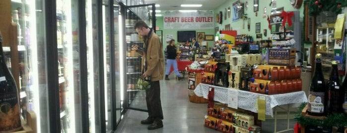 The Craft Beer Outlet is one of a list.