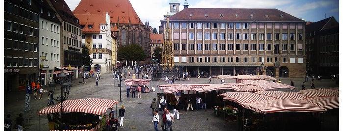 Hauptmarkt is one of Nürnberg, Deutschland (Nuremberg, Germany).