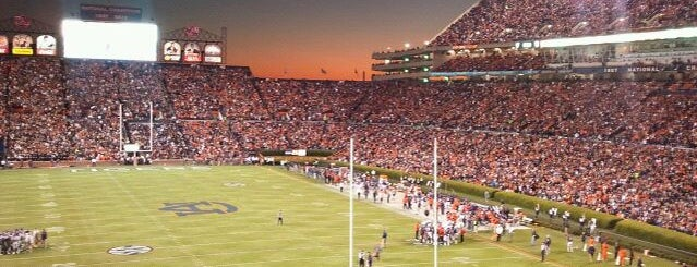 Pat Dye Field at Jordan-Hare Stadium is one of Great Sport Locations Across United States.
