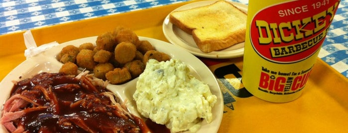Dickey's Barbecue Pit is one of Central Dallas Lunch, Dinner & Libations.