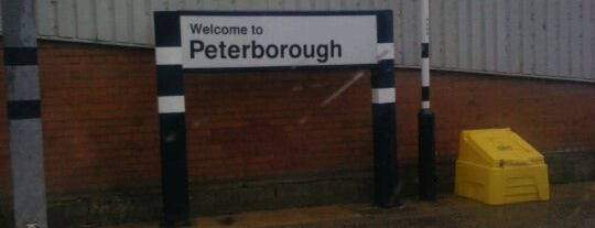 Peterborough Railway Station (PBO) is one of Railway stations visited.