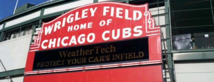 Wrigley Field is one of Ballparks Across Baseball.