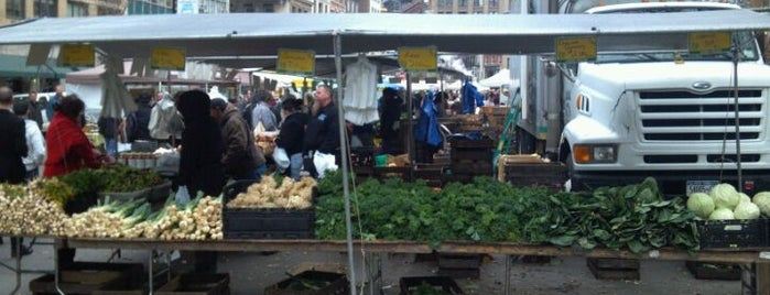 Union Square Greenmarket is one of New York.