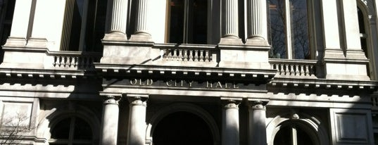 Old City Hall is one of Hub History.