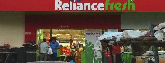 Reliance Fresh is one of My places.